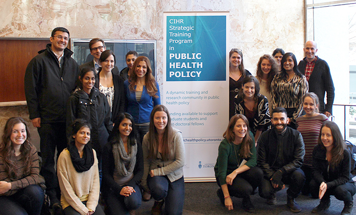 2014-2015 CIHR Strategic Training Program in Public Health Policy picture